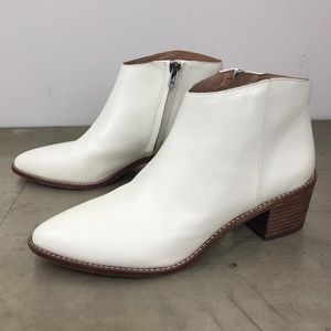 Madewell The Justine Boot Vintage Canvas